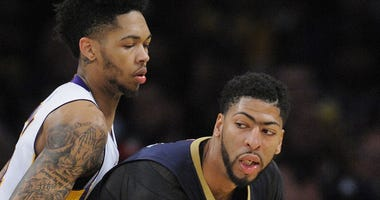 Anthony Davis and Brandon Ingram