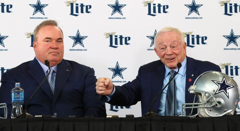 Mike McCarthy and Jerry Jones