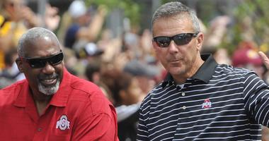 Urban Meyer and Gene Smith