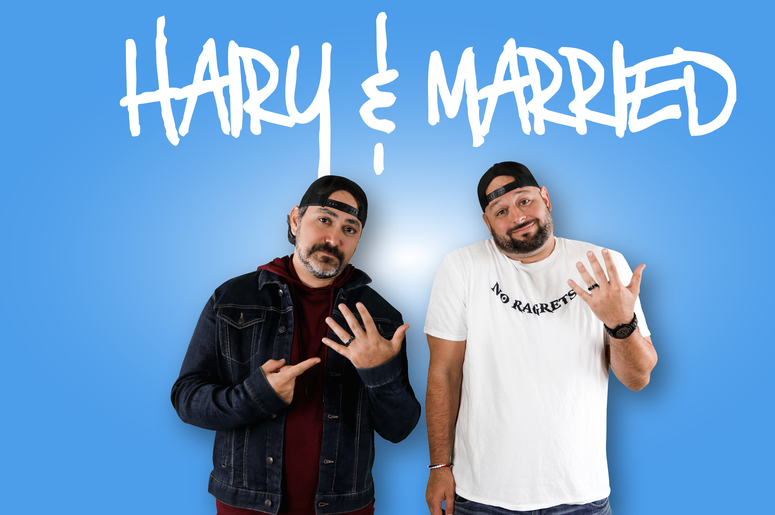 Hairy and Married Podcast Cover