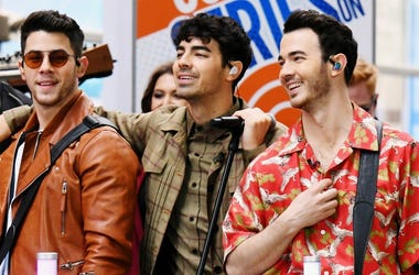 """The Jonas Brothers Perfom On NBC's """"Today"""" at Rockefeller Plaza"""