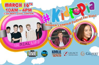 LEGACY TRADITIONAL SCHOOLS AND LIVE 101.5 PRESENTS #KIDTOPIA!