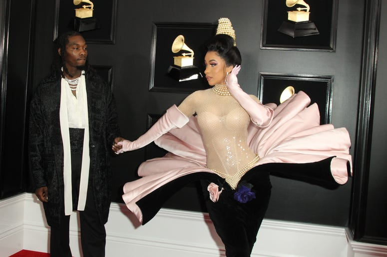 10 February 2019 - Los Angeles, California - Cardi B. 61st Annual GRAMMY Awards held at Staples Center