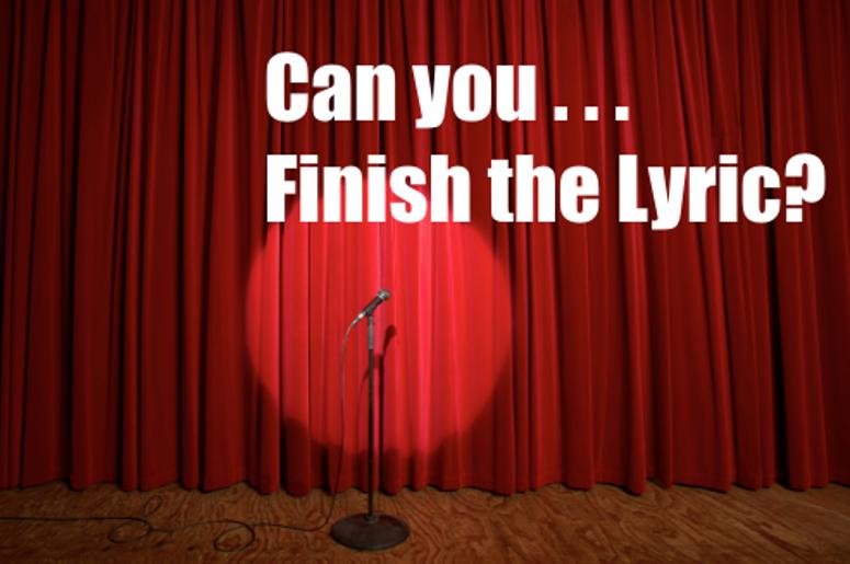 Finish the Lyric