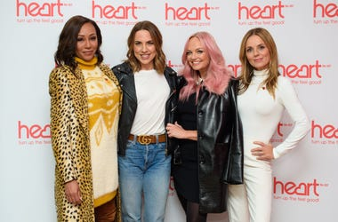 Spice Girls (left to right) Melanie Brown, Melanie Chisholm, Emma Bunton and Geri Horner
