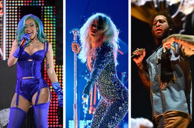 Cardi B, Lady Gaga, Post Malone