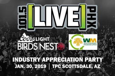 LIVE 101.5 Industry Appreciation Party