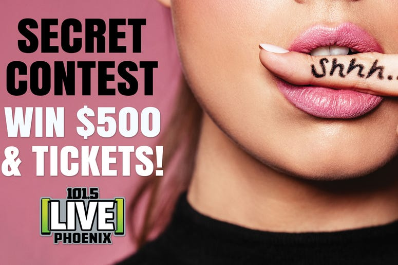 $500 CASH + JUSTIN TIMBERLAKE TIX = SECRET CONTEST!