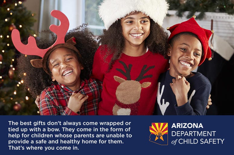 Arizona Department of Child Safety - Holiday