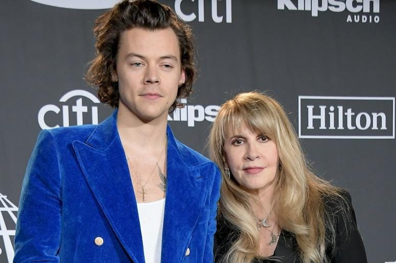 Harry Styles and Stevie Nicks