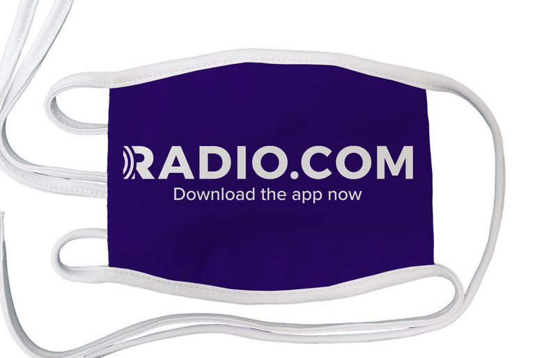 RADIO.COM Face Mask