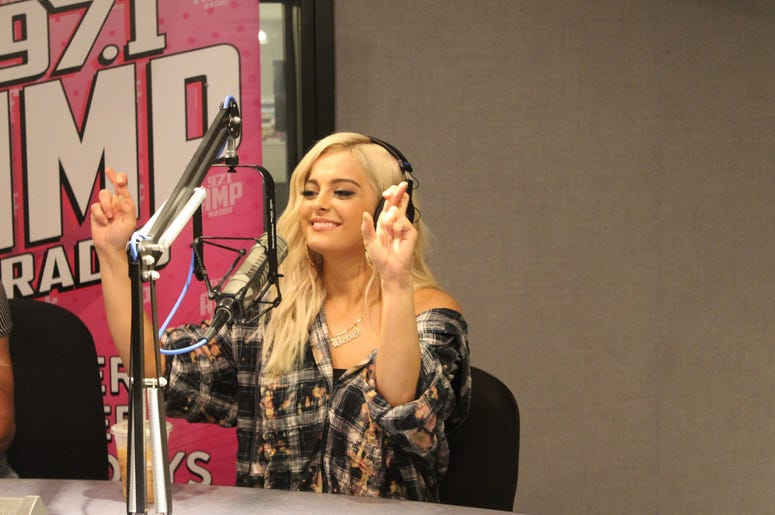 Casey McCabe interviews BeBe Rexha on AMP Radio