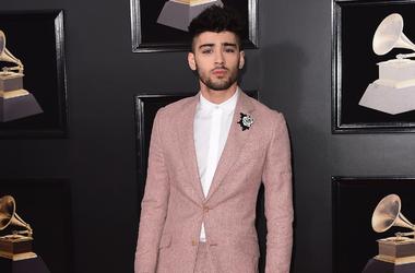 Zayn Malik at the 60th Annual Grammy Awards