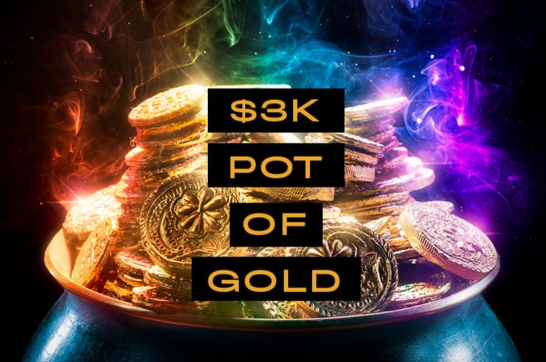 3k pot of gold
