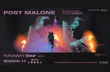 Post Malone Runaway Tour at Toyota Arena