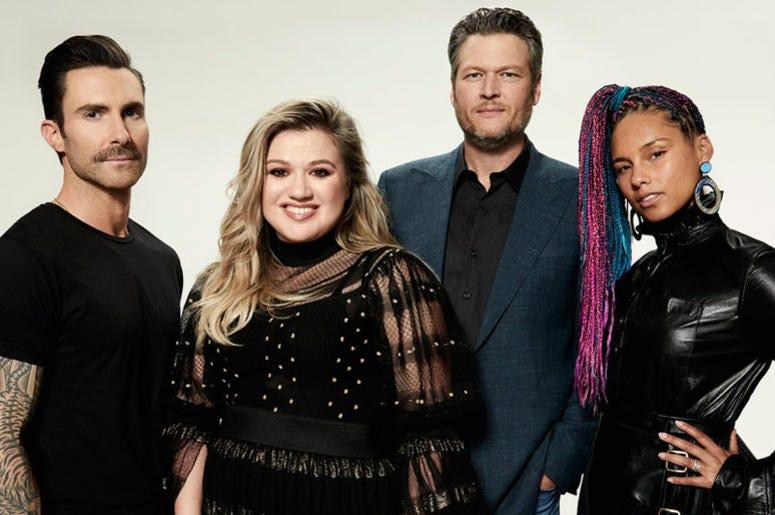 The Voice, Adam Levine, Alicia Keys, Blake Shelton, Kelly Clarkson