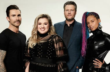 The Voice, Adam Levine, Alicia Keys, Blake Shelton, Kelly Clarkson