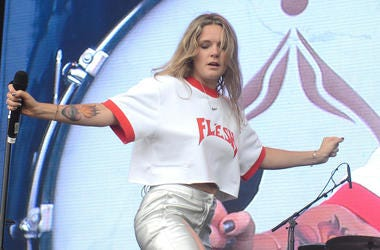 Tove Lo performs during the 2017 Outside Lands Music and Arts Festival