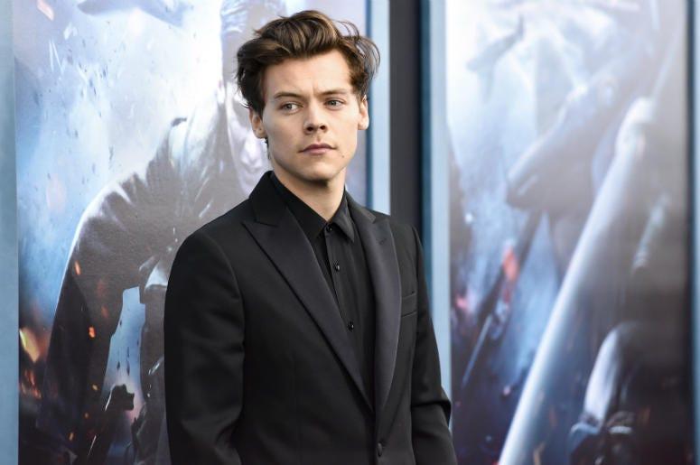 Singer-Actor Harry Styles in 2017