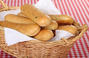 breadstick bouquet