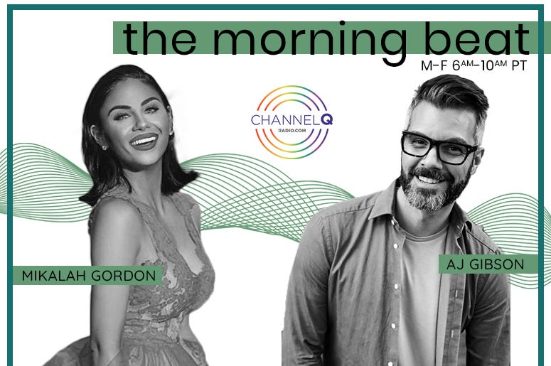 The Morning Beat with AJ Gibson and Mikalah Gordon
