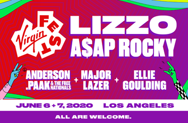 Just Announced: Virgin Fest Featuring Lizzo, A$AP Rocky, Anderson. Paak, Major Lazer and More!