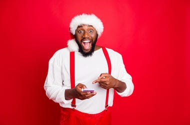 An App To Find Black Santa