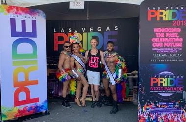 LV to SD Pride SirFreezy Feat. Jai Rodriguez