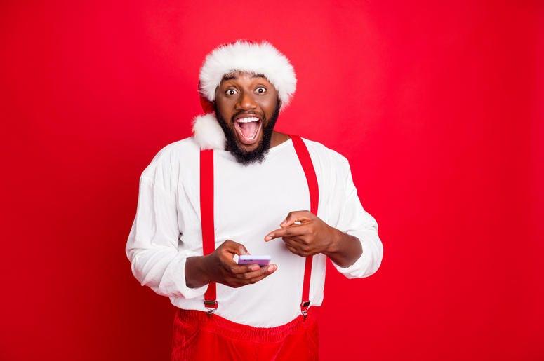 An App To Find Black Santa
