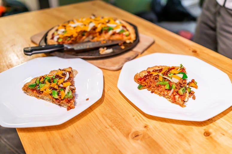 pizza for homeless