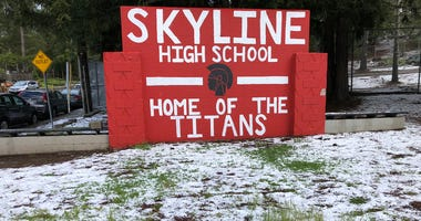 Skyline High School in Oakland