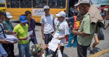 Migrants from Central America