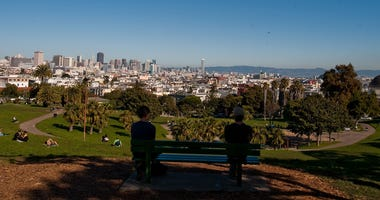 Part urban adventure, part urban trek and totally green, the new Real SF Tour takes visitors to gardens, rooftops, secret stairways and some of San Francisco's coolest neighborhoods. A stop on the Real SF Tour, pulls up to a view of San Francisco from Mis