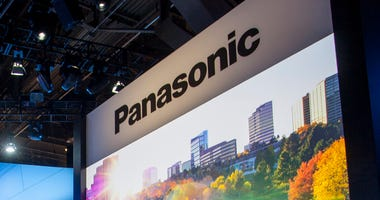 Speaker at the Panasonic Booth at the Consumer Electronics Show held in Las Vegas, Nevada on January 5, 2016. (Photo by Mikey McNulty) *** Please Use Credit from Credit Field ***