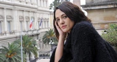 """3/22/2017 - Roma, Photocall """"Rosalind Franklin-Il segreto della vita"""" . Pictured : Asia Argento (Photo by PA Images/Sipa USA)"""