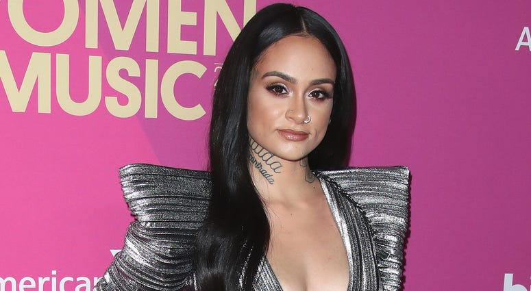 HOLLYWOOD- NOVEMBER 30: Kehlani at Billboard Women in Music 2017 at the Ray Dolby Ballroom on November 30, 2017 in Hollywood, California. (Photo by Scott Kirkland/PictureGroup/Sipa USA)