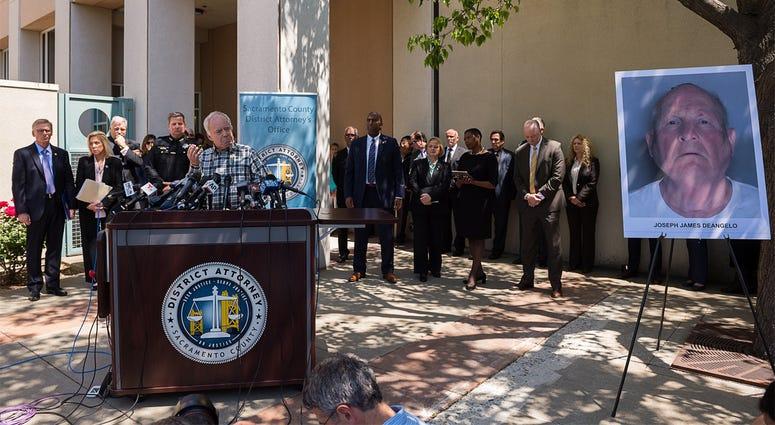 Joseph James DeAngelo / Golden State Killer Press Conference