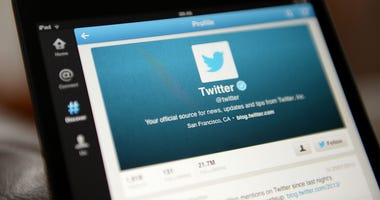 Embargoed to 1700 Tuesday May 15 File photo dated 20/02/18 of the Twitter application in use. The site has launched a new behaviour monitoring system that will hide content from accounts identified as trying to distort or disrupt public conversation on th