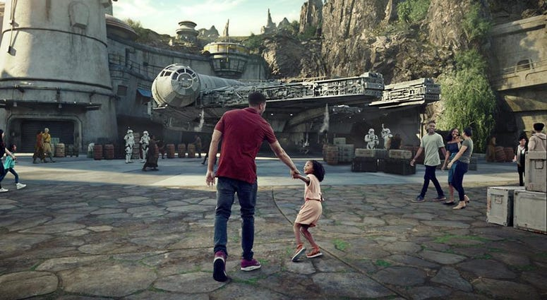 Disneyland in Anaheim is opening a new section called Star War Galaxy's Edge.