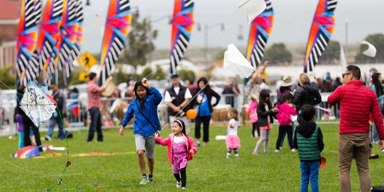A kite festival will be held in the Presidio on Aug. 10, 2019.
