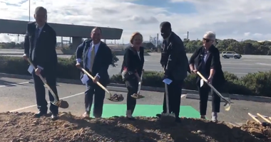 A ceremonial groundbreaking kicked off construction of an 11-mile stretch of a carpool lane along I-680 in Contra Costa County.