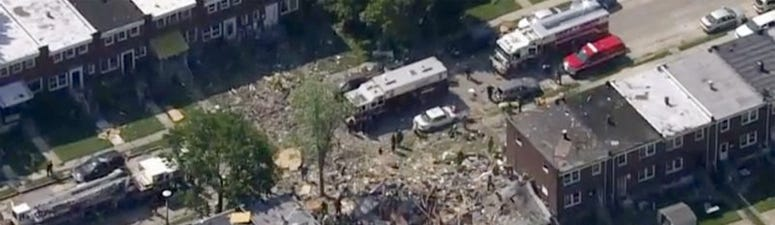 Baltimore explosion, August 10
