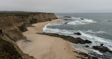 Cowell Ranch State Beach, Northern California. Empty, overcast. (Photo credit: Alexander Krassel)