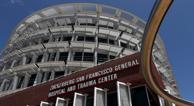 The Priscilla Chan And Mark Zuckerberg San Francisco General Hospital And Trauma Center SAN FRANCISCO, CA - MAY 16: A view of the Zuckerberg San Francisco General Hospital and Trauma Center on May 16, 2018 in San Francisco, California. In the wake of wide