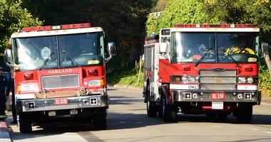 Oakland Fire Trucks