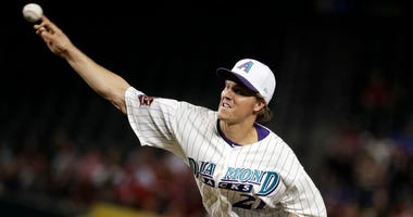 Arizona Diamondbacks starting pitcher Zack Greinke