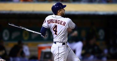Houston Astros' George Springer