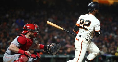 San Francisco Giants' Andrew McCutchen