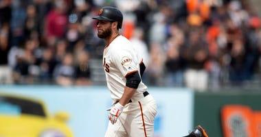 San Francisco Giants' Brandon Belt