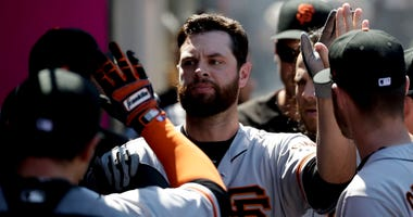 San Francisco Giants' Brandon Belt